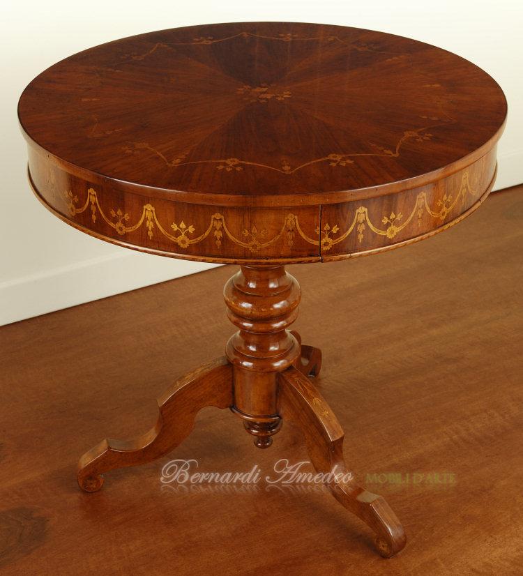Tavolini rotondi e ovali 3 tavolini - Tavolino salotto rotondo ...