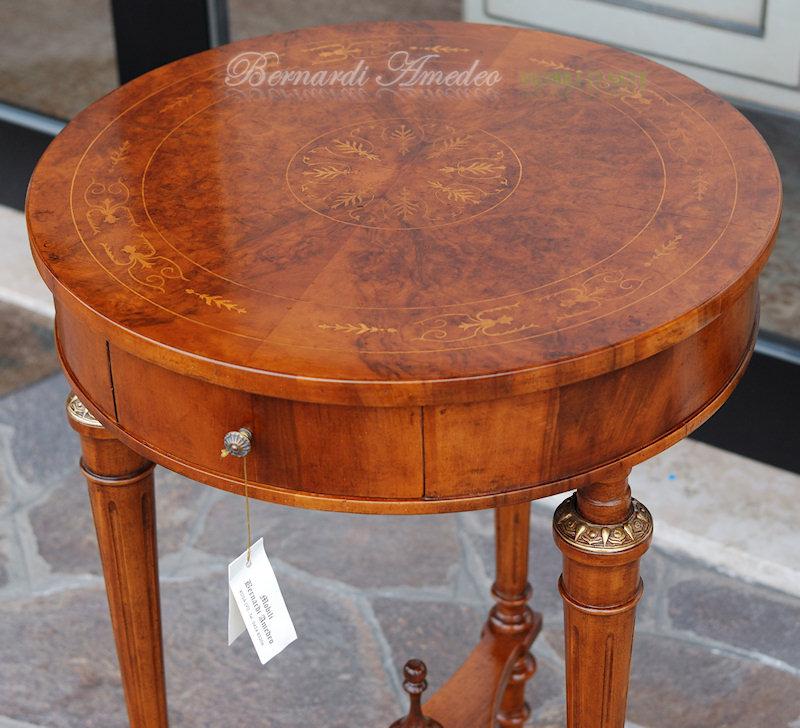 Tavolini rotondi e ovali 4 | Tavolini