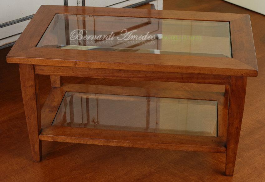 Tavolo Con Ripiano In Vetro.Tavolini Da Salotto 3 Tavolini