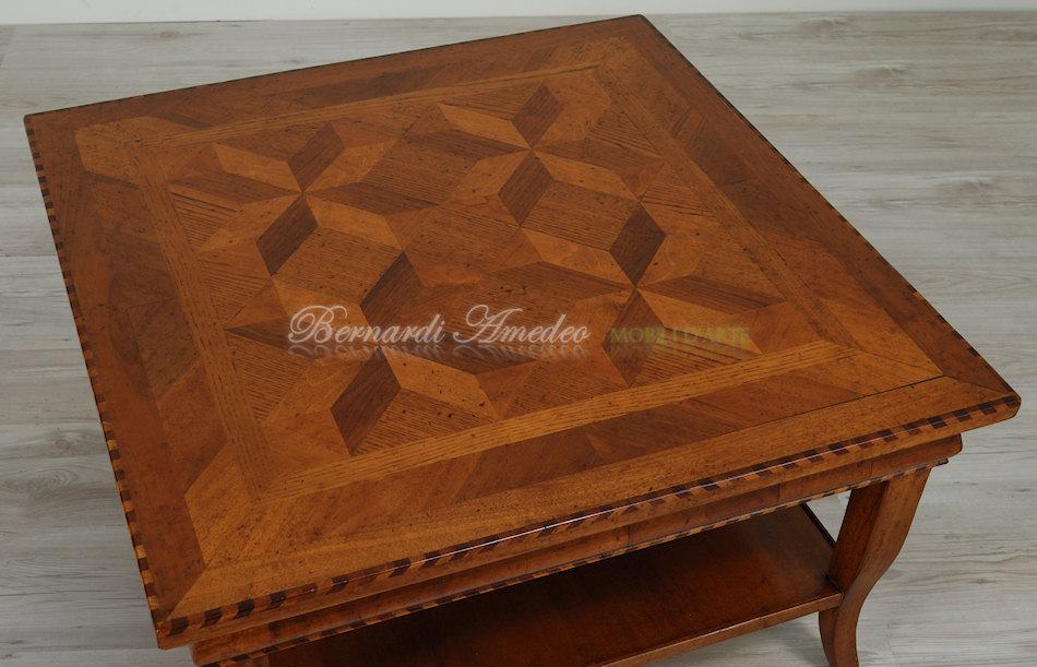 Tavolino Da Salotto Quadrato Classico.Tavolini Da Salotto 4 Tavolini