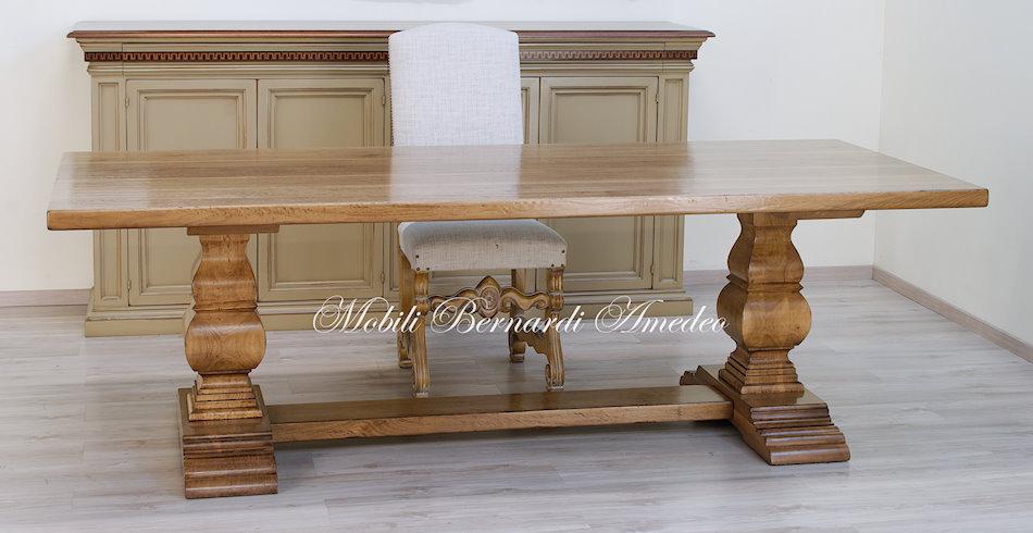 Tavoli fratino 4 tavoli for Tavolo rotondo legno chiaro