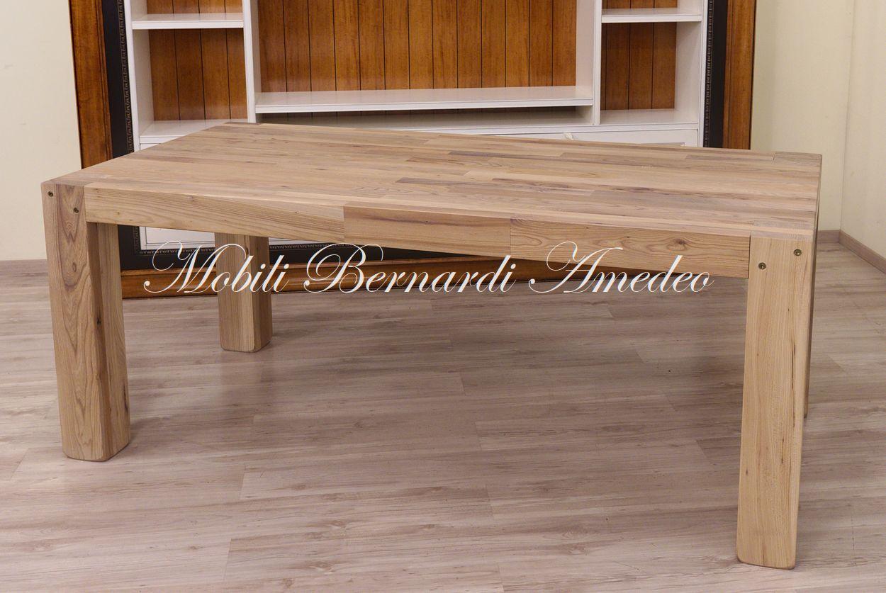 Tavolo moderno in legno massiccio | Tavoli