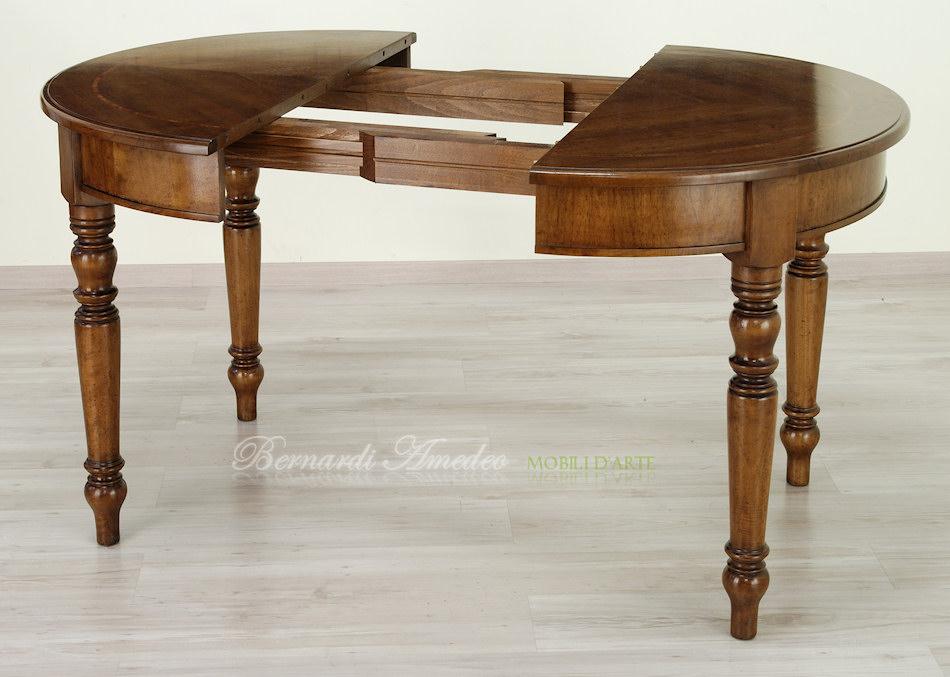 tavoli ovali e rotondi allungabili 2 | tavoli - Tavolino Soggiorno Apribile 2
