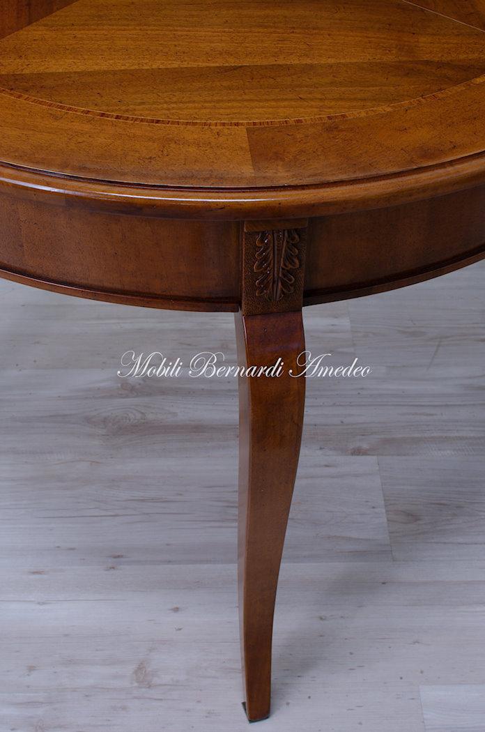 Tavoli ovali e rotondi allungabili 2  Tavoli