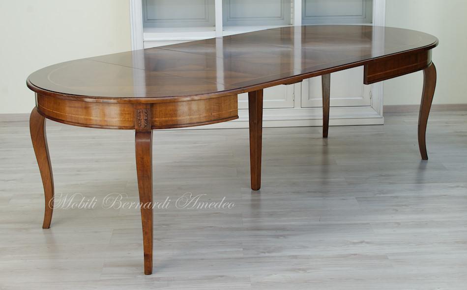 Tavolo rotondo allungabile 4 tavoli - Dimensioni tavolo tondo 4 persone ...