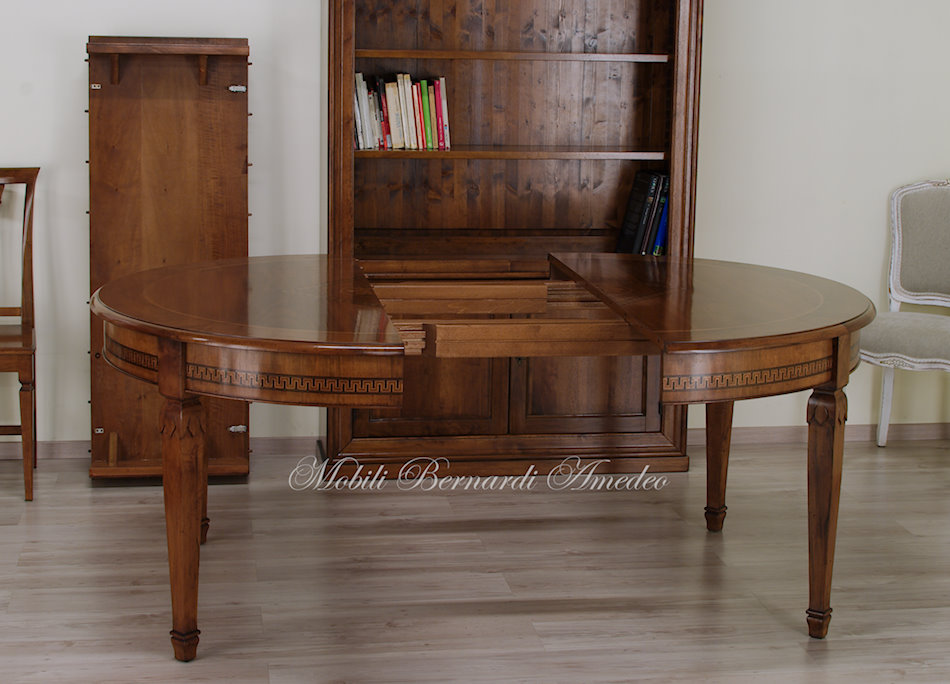 Tavolo Tondo Allungabile Antico.Tavoli Rotondi E Ovali Allungabili 5 Tavoli