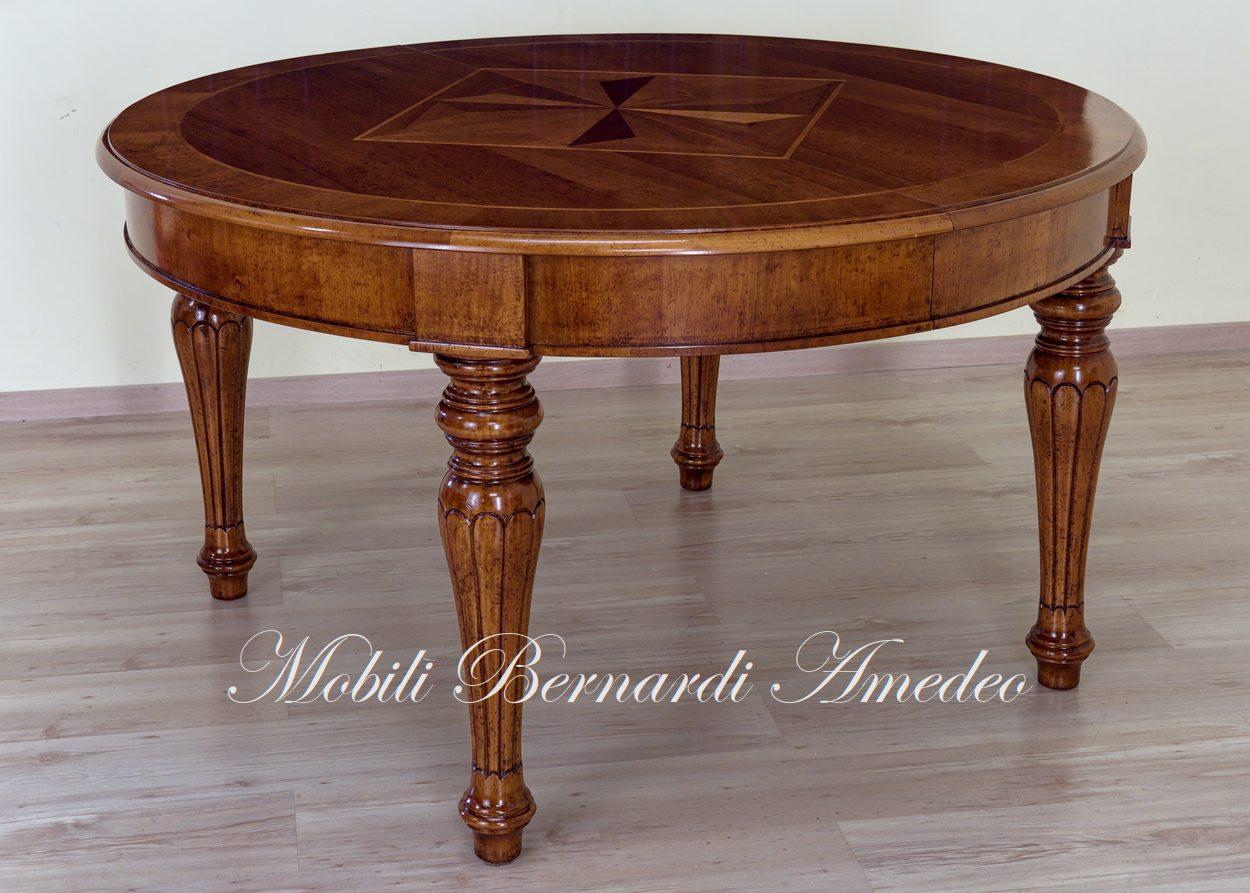 Tavolo Antico Allungabile Veneto.Tavoli Rotondi E Ovali Allungabili 5 Tavoli