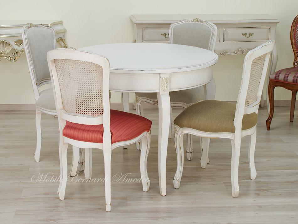 Tavoli ovali e rotondi non allungabili tavoli for Tavolo allungabile e sedie