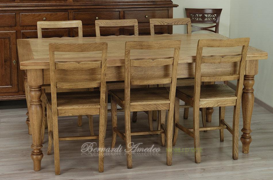 Tavoli allungabili in rovere 18 tavoli for Cerco tavolo da cucina allungabile