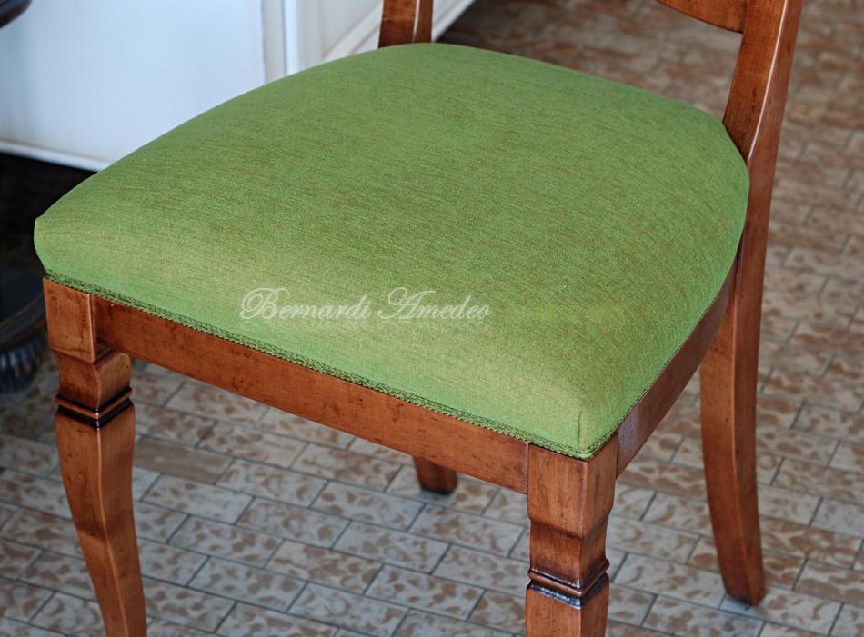 Tessuti e rivestimenti per sedie sedie poltroncine divanetti for Pelle per rivestimento sedie